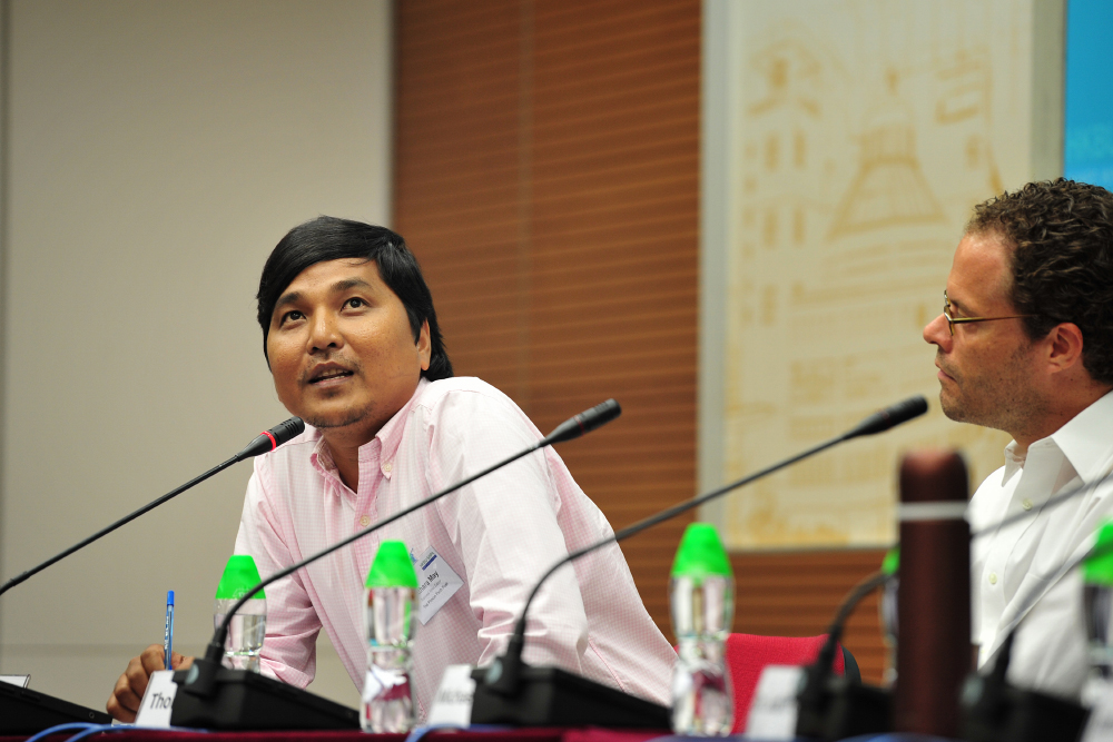 National News Editor Titthara May from the Phnom Penh Post says some thought he might be killed for his investigative work in Cambodia. Photo: Bruce Yan