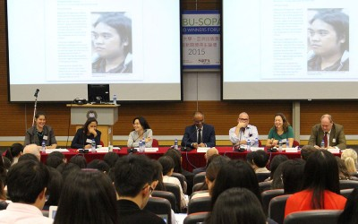 Journalists give voice to the voiceless, forum speakers say